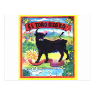 El Torroの黒人 ポストカード