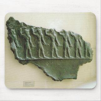 Elamiteの戦士の行列、Susa、イラン、Elamit マウスパッド
