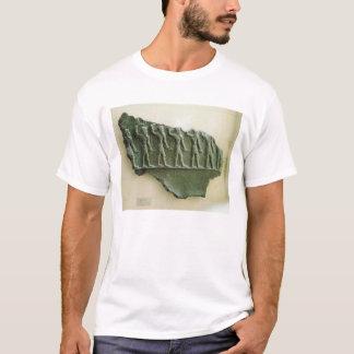 Elamiteの戦士の行列、Susa、イラン、Elamit Tシャツ