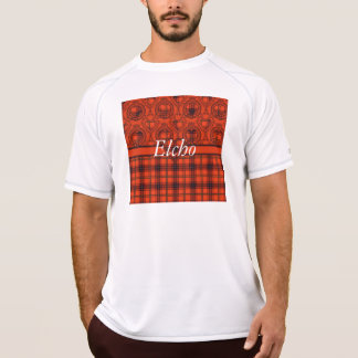 Elchoの一族の格子縞のスコットランドのキルトのタータンチェック Tシャツ