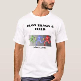 ELCOの陸上競技 Tシャツ