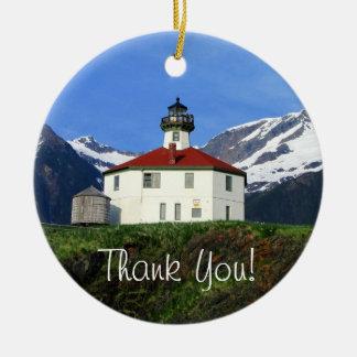 Eldredの石の灯台; ありがとう セラミックオーナメント