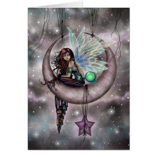 Electra Fae Fantasy Fairy Art by Molly Harrison カード