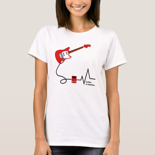 Electric Guitar M RED Tシャツ