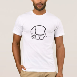 Elefant象のティー Tシャツ