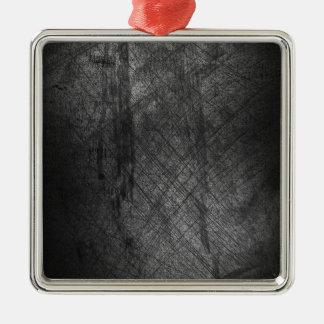Eleganのクールで暗く動揺してな金属灰色ライン メタルオーナメント