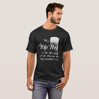 Elegan及び素晴らしい音楽デザインのワイシャツ Tシャツ