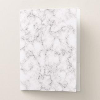 Elegant Marble style ポケットフォルダー