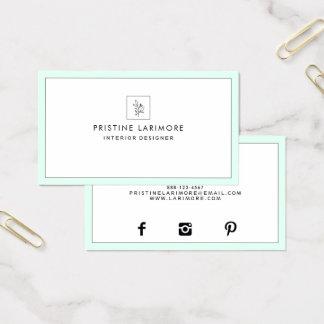 ★ Elegant Mint 名刺