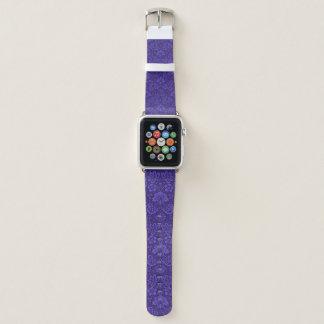 Elegant Purple Apple Watchバンド
