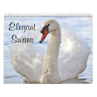 Elegant Swans カレンダー