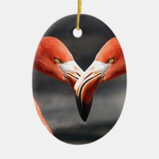 elegent鳥-愛のための記号 セラミックオーナメント