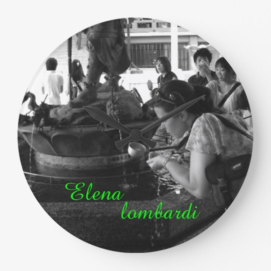 Elena lombardi Firenze きみのじかん展 ラージ壁時計