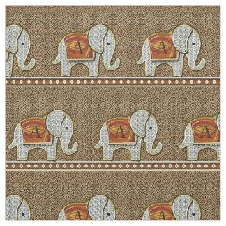 Elephant Walk Monogram Hot Cheetah ファブリック