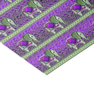 Elephant Walk Purple Swirls 薄葉紙