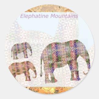 Elephantine山 ラウンドシール