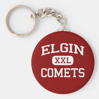 Elgin -彗星- Elginの高等学校-マリオンオハイオ州 キーホルダー