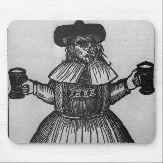 Elinour Rummin、Pimlicoのエール、c.1609の御用達 マウスパッド