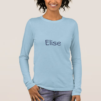 Elise 長袖Tシャツ