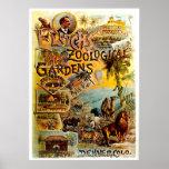 Elitchの動物園-プリント ポスター