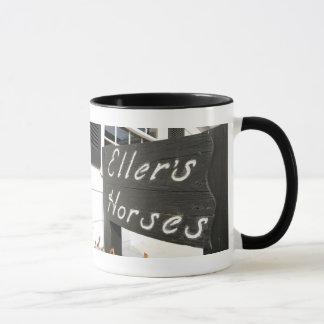 Ellerのベルギー人のマグ マグカップ