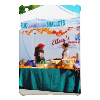Ellerysの農産物と iPad Mini カバー
