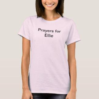 EllieのTシャツのための祈りの言葉 Tシャツ