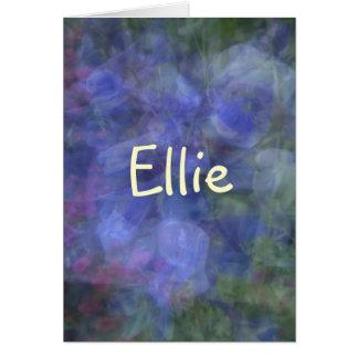 Ellie カード