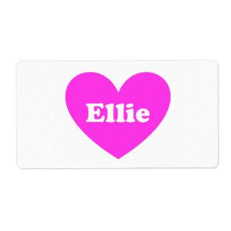 Ellie ラベル