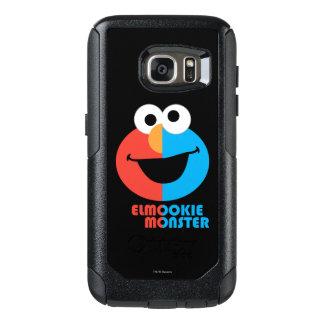 Elmoおよびクッキーの半分の顔 オッターボックスSamsung Galaxy S7ケース