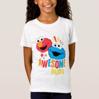 Elmoおよびクッキーの素晴らしい芽 Tシャツ