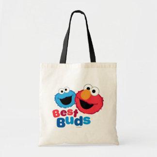 ElmoおよびクッキーBesties トートバッグ