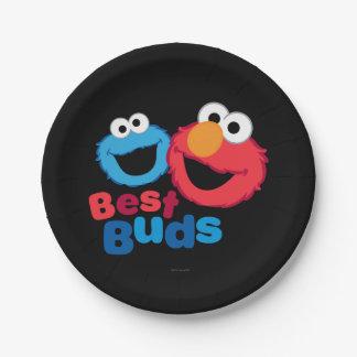 ElmoおよびクッキーBesties ペーパープレート