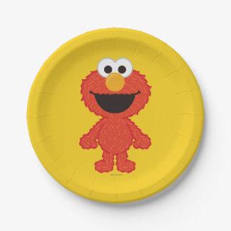Elmoのウールのスタイル ペーパープレート