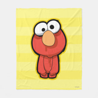 Elmoのゾンビ フリースブランケット