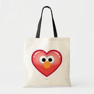Elmoのハート トートバッグ