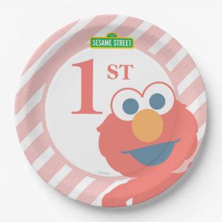Elmoのベビーの誕生日 ペーパープレート