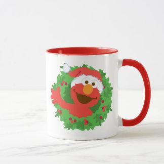 Elmoのリース マグカップ