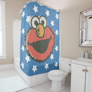 Elmoのレトロ シャワーカーテン