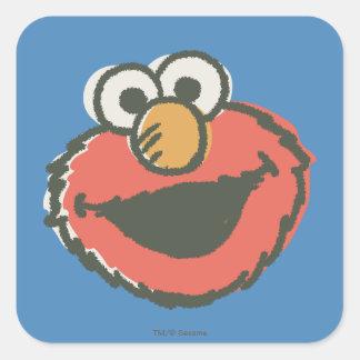 Elmoのレトロ スクエアシール