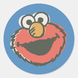 Elmoのレトロ ラウンドシール