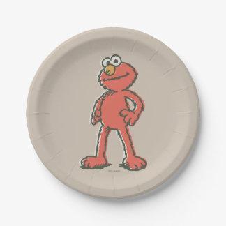 Elmoのヴィンテージ ペーパープレート