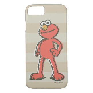 Elmoのヴィンテージ iPhone 8/7ケース