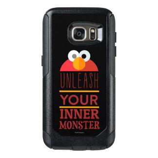Elmoの内部モンスター オッターボックスSamsung Galaxy S7ケース