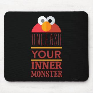 Elmoの内部モンスター マウスパッド