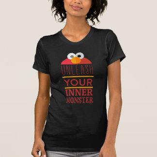 Elmoの内部モンスター Tシャツ
