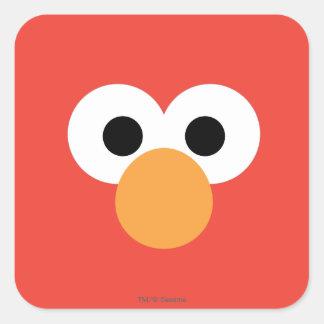 Elmoの大きい顔 スクエアシール