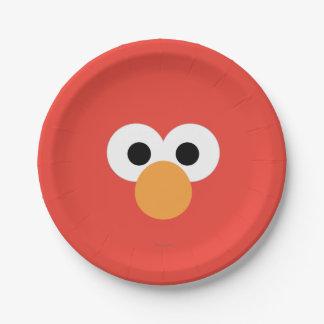 Elmoの大きい顔 ペーパープレート