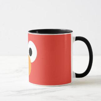 Elmoの大きい顔 マグカップ