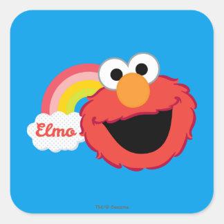 Elmoの女の子 スクエアシール